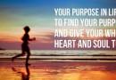 Propósito de año nuevo: Tener un propósito en la vida