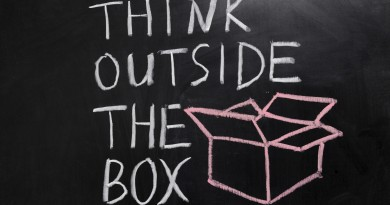 innovación disruptiva - think outside the box