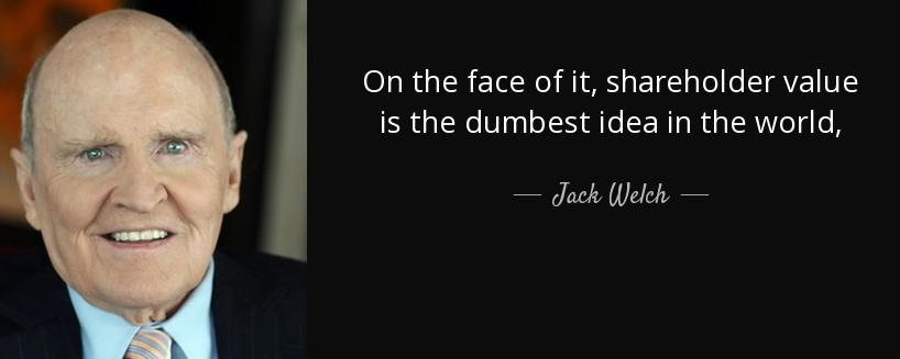 proposito de empresa - jack welch